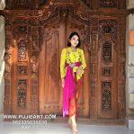 Gebyok Bali Ukir Klasik