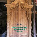 Pintu Gebyok Ukir Klasik
