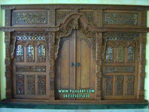 Pintu Utama Klasik Mewah