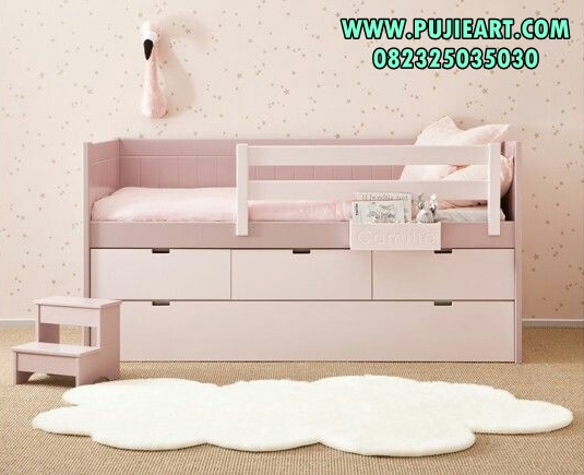 Daybed Anak Warna Pink