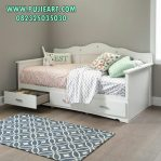 Daybed Carrefour White New