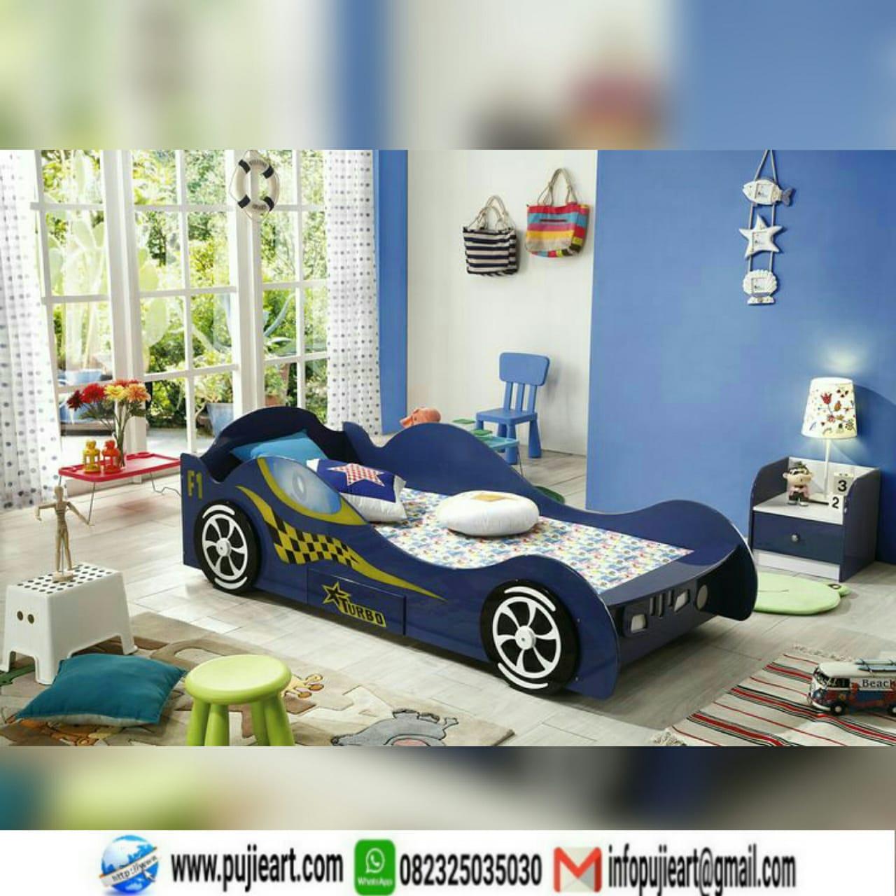 Kasur Anak Karakter Mobil