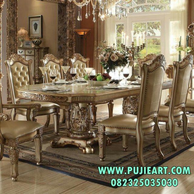 Meja Makan Mewah Eropan Style