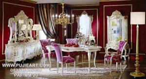 Meja Makan Mewah Klasik Eropa