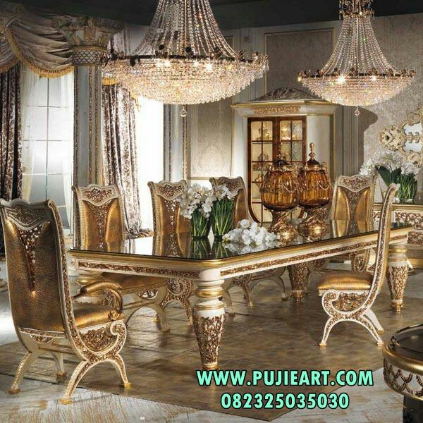 Meja Makan Modern mewah