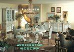 Meja Makan Ukir Classic Alexandra