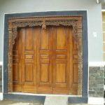 Pintu Garasi Model Gebyok