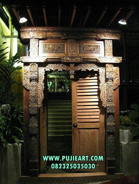 Harga Pintu Gebyok Kuno