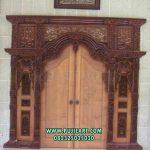 Pintu Gebyok Masjid