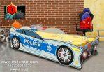 Ranjang Anak Mobil Karakter Police