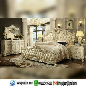 Set Kamar Tidur Mewah Ukir Klasik