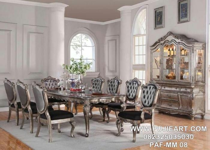 Set Kursi Meja Makan Modern Elegan