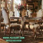 Set Maja Makan Gold New