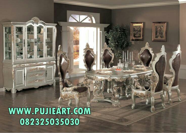 Set Meja Makan Klasik Luxury Eropa