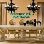 Set Meja Makan Luxury Spain