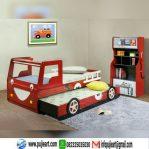 Set Tempat Tidur Anak Karakter Mobil