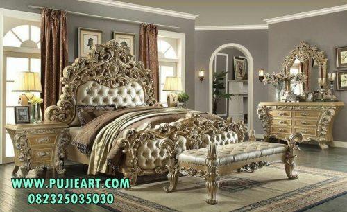 Set Tempat Tidur Antiq Gold