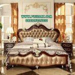 Tempat Tidur Mewah Brown Klasik