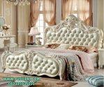 Tempat Tidur Mewah Ukir Modern White