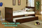Tempat Tidur Sorong Jati