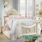 Tempat Tidur Sorong Ukir Minimalis