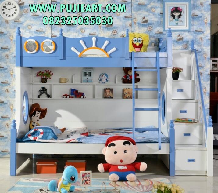 Tempat Tidur Tingkat Spongebob
