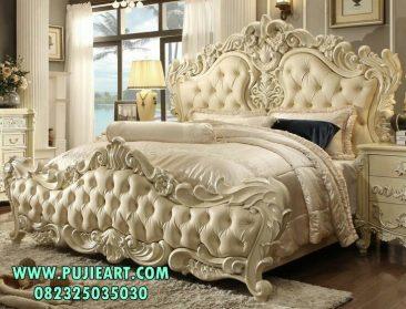 Tempat Tidur Mewah Ukiran Eskada Royal
