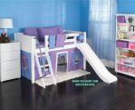 Model Tempat Tidur Anak Dengan Perosotan