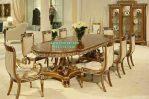 Set Meja Makan Mewah Modern