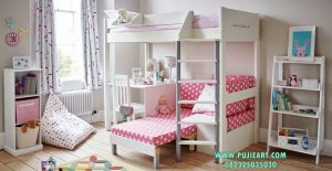 Set Tempat Tidur Anak Anak Tingkat