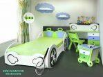 Set Tempat Tidur Anak Mobil