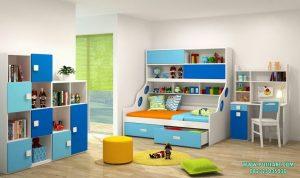 Set Tempat Tidur Anak Warna-Warni
