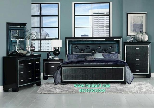 Set Tempat Tidur Klasik Modern