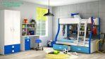 Set Tempat Tidur Tingkat Anak Pelangi