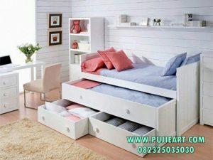 Tempat Tidur Anak Sorong Laci Procelia