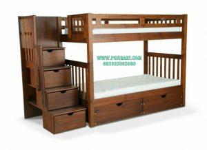 Tempat Tidur Tingkat Anak Natural