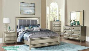 Set Tempat Tidur Antik Modern