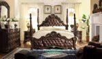 Set Tempat Tidur Mewah Jati