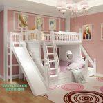Tempat Tidur Anak Tingkat Perosotan