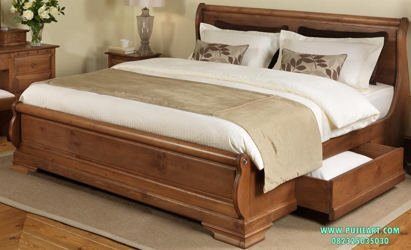 Tempat Tidur Minimalis Ada Lacinya
