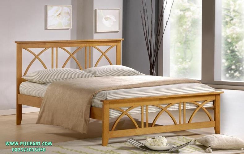 Harga Tempat Tidur Minimalis Jati