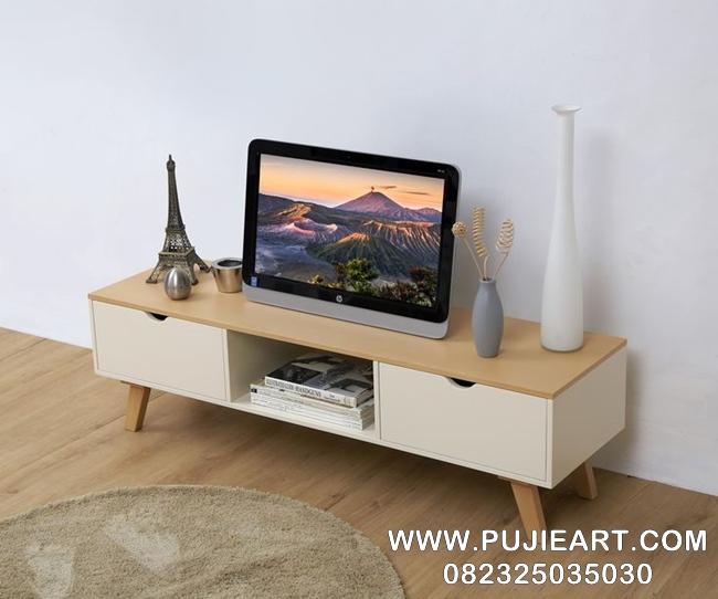 Bufet Meja Tv Kayu Minimalis Modern