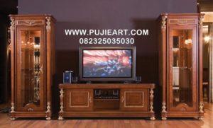 Buvet Tv Kayu Jati Minimalis Modern