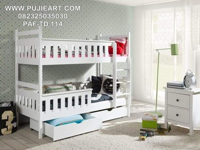 Jual Tempat Tidur Tingkat Anak Minimalis Modern