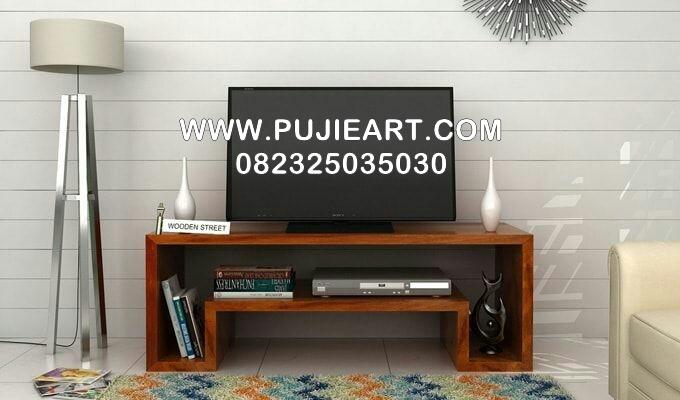 Meja Tv Minmalis Kayu Jati