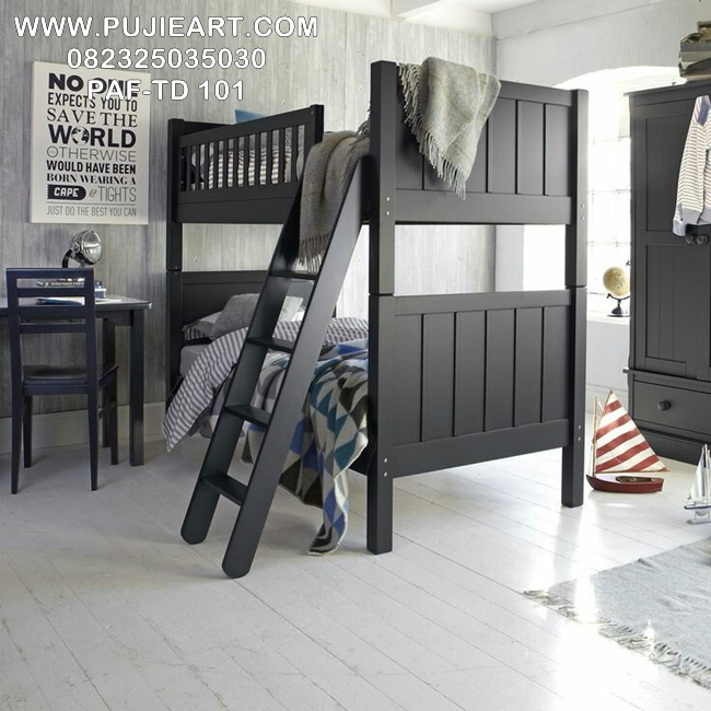 Tempat Tidur Anak Laki Laki Tingkat Minimalis