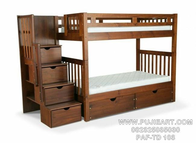 Tempat Tidur Anak Laki Laki Tingkat Modern
