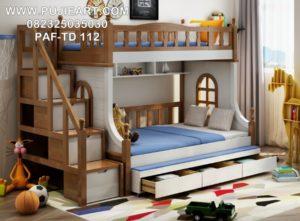 Tempat Tidur Tingkat Anak Minimalis Modern