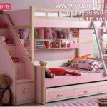 Tempat Tidur Tingkat Anak Perempuan Minimalis