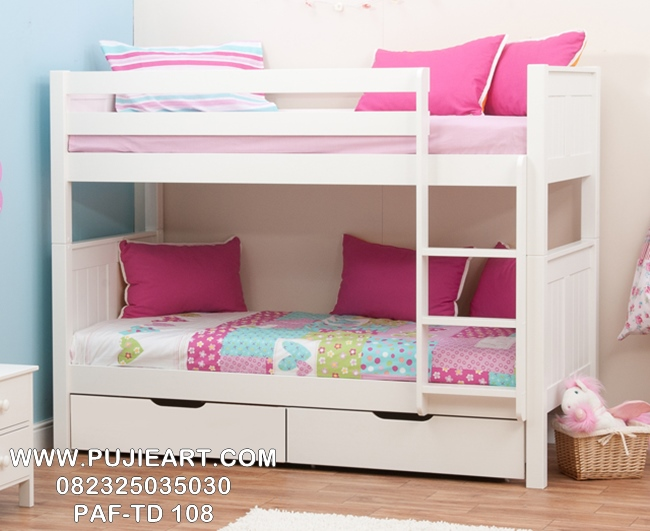 Tempat Tidur Tingkat Anak Perempuan Murah